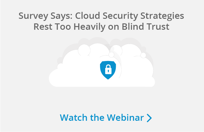 Watch our webinar on cloud security