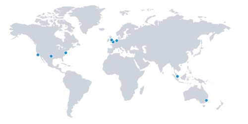 iland datacenters around the world