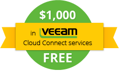 $1000 in Veeam Cloud Connect Services