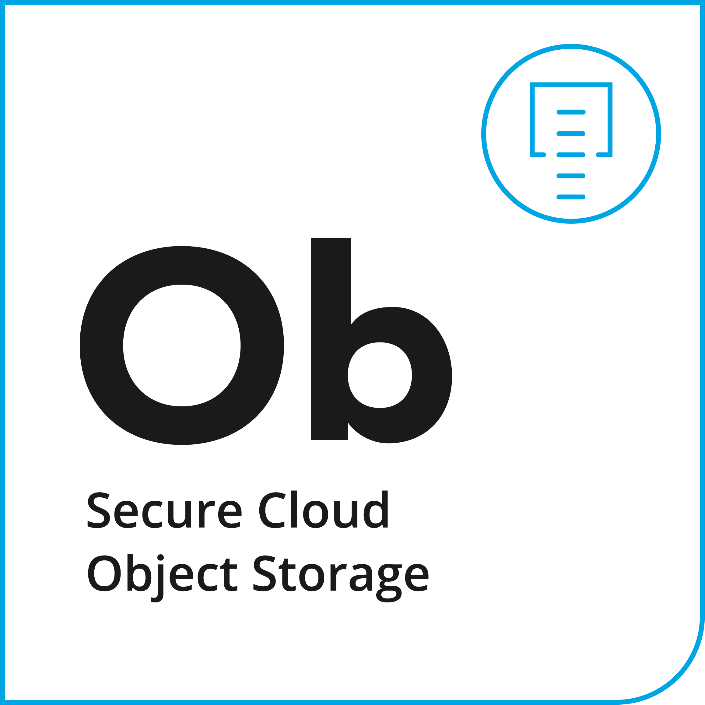iland Object Storage