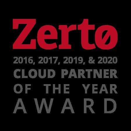 iland Zerto Cloud Partner 2016–2020