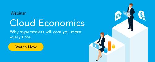 Cloud Economics Webinar