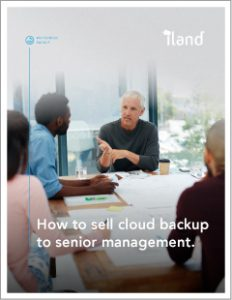 How to sell cloud backup to senior management